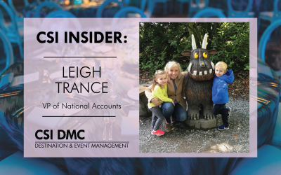 CSI Insider: Say hello to the wonderful and enthusiastic Leigh Trance!