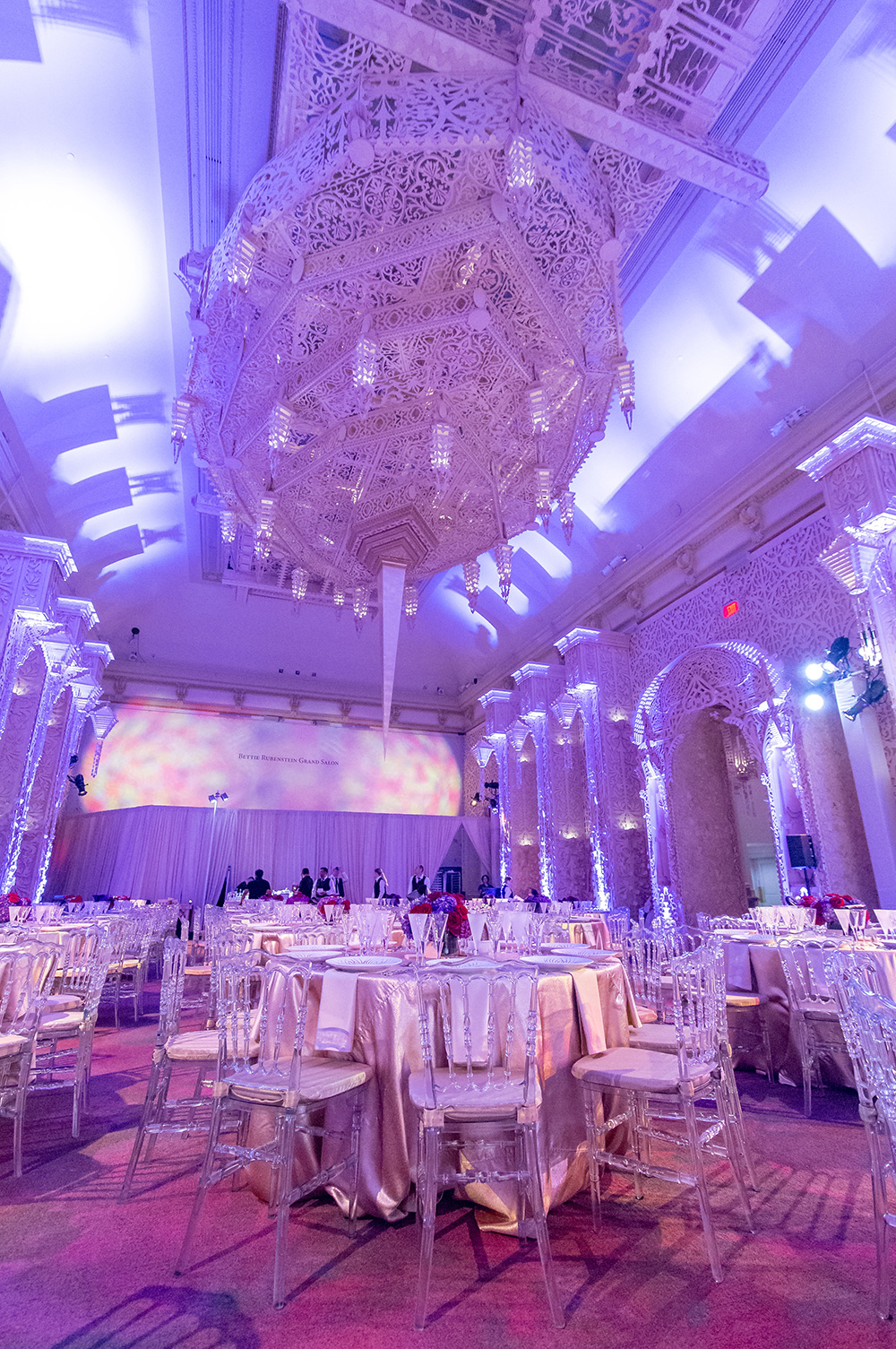 An Inspired Event Space