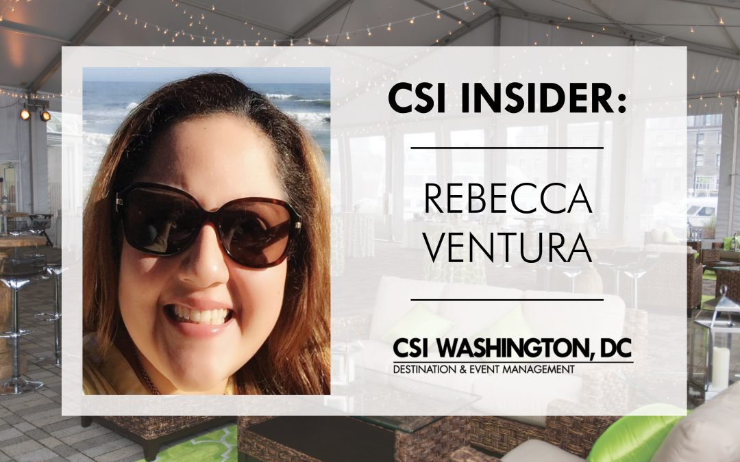 CSI Insider: Back of House with Rebecca Ventura of CSI Washington, DC!
